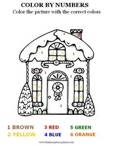 Christmas worksheets: coloring, counting, word scramble, etc.