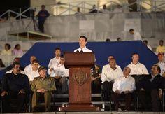 Realizan ceremonia luctuosa con motivo del sepelio de Fidel Castro Ruz