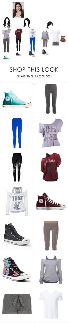 """Nightingale 2"" by theglittergamer ❤ liked on Polyvore featuring Converse, Ivy Park, Lucas Hugh, Soul Cal, OLYMPIA Activewear, Bodas, Simplex Apparel and Gund"