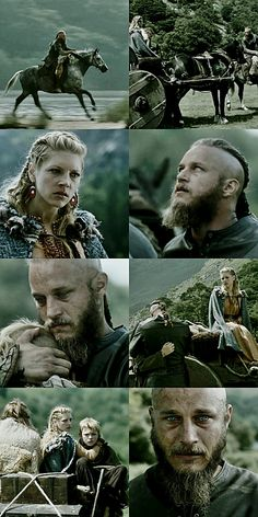 Ragnar: i don't want you to go. Lagertha: it's fate.  #vikings #s02.ep01