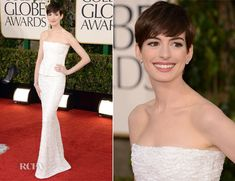 anne hathaway golden globes 2013 - Google Search