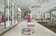 f20458f012c Store Interiors, Store Design, Michael Kors, Commercial Interiors, Frames,  Retail Interior