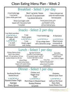 Clean Eating Menu Plan Week Fre Printable Weekly Meal Plans Homemadeforelle Com Weight Clean Eating Menu Clean Eating Meal Plan Free Clean Eating Meal Plan