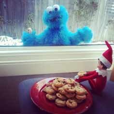 The elf on the shelf~Cookies for One.