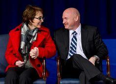 Gabby Gifford & Husband Mark Kelly... heroes both of them