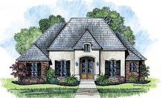 Nice Small French Country House Plans