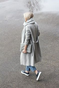 Autumnal Street Style Scandinavian Way