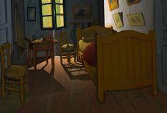 Van Gogh Shadow: Animation by Luca Agnani