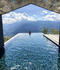 I'd like to look at those mountains from this magnificent pool. Miramonti Boutique Hotel, near Merano, Italy Amazing Swimming Pools, Swimming Pool Designs, Cool Pools, Best Pools, Infinity Pools, Miramonti Boutique Hotel, Luxury Pools, Luxury Swimming Pools, Dream Pools