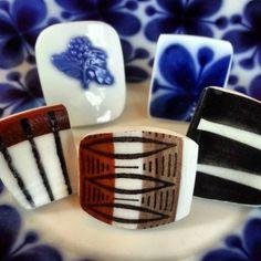Spisa ribb zebra blå blom mon amie Lansett