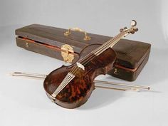 Tortoiseshell Violin Belonging to Empress Maria Theresa (1717-1780) Austria, 1749 Kunsthistorisches Museum