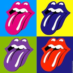 Andy Warhol and Pop Art. Exploring Artists – Art lessons for Children Andy Warhol Pop Art, Bedroom Wall Collage, Photo Wall Collage, Pop Art Background, Rolling Stones Logo, Hippie Painting, Pochette Album, Iphone Wallpaper Tumblr Aesthetic, Retro Wallpaper