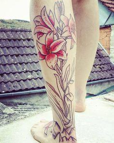 une fleure sur le toit ...