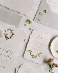 Tara Spencer - fine art wedding suite designer and calligrapher