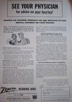 1953 Zenith ad