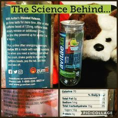 DYK you can make caffeine last longer if you encapsulate it? By burying the caffeine inside ball your body has to digest that ball before it gets the caffeine. When you combine that ball with free-floating caffeine you get a steady dose of caffeine all day with no  crash! This is roughly how @avitaecaffeinewater works! YES- THIS IS AN ENERGY DRINK!  Visit GreenEyedGuide.com for more science-of-energy drinks! The Energy Drink Guide book