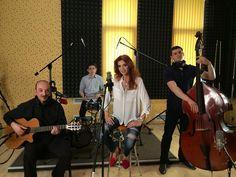With Capriel Dedeian, Virlan Ion and Cristina Spatar at Ines Studios. Studios, Artists, Artist