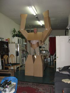 carboard suit 5.0 5