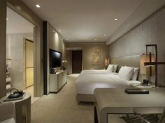 Conrad Beijing Hotel, China - Deluxe Double Beds