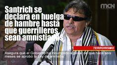 El Guerrillero #Santrich se declara en huelga de hambre hasta que guerrilleros sean amnistiados