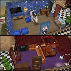 My Sims Free Play - Fancy House: kids rooms with adjoining bathroom