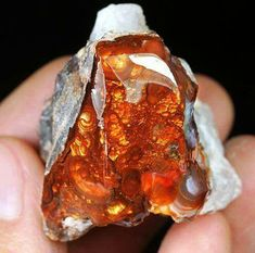 is a natural precious. with deposits found only in certain areas of northern Mexico and the southwestern United States (primarily Arizona, California, and parts of New Mexico). Minerals And Gemstones, Crystals Minerals, Rocks And Minerals, Stones And Crystals, Gem Stones, Orange Crystals, Natural Curiosities, Mineral Stone, Rocks And Gems