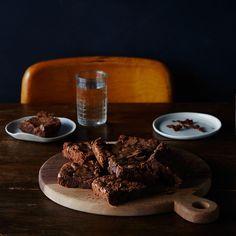 Mario Batali's Double-Chocolate Pot Brownies Recipe on Food52 recipe on Food52