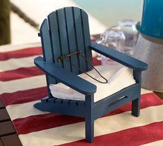 Adirondack Chair Napkin Holder | Pottery Barn
