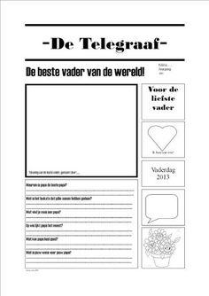 Bekijk de foto van ewebbink met als titel Vaderdag krant en andere inspirerende plaatjes op Welke.nl.