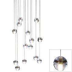 14 Series Fourteen Pendant Chandelier by Bocci . would love to see this above our staircase