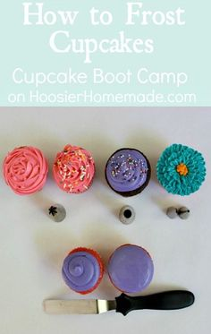 Boot camp frosting
