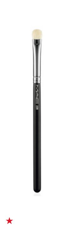 Soft and dense to shade or blend eye shadow or emollient-based products, MAC Masterstrokes 239 eye shading brush has a tapered, rounded edge with smooth, firm, fine fibers. It can be used to build intense color on the eyelid, which is perfect for creating your next night out look. Shop this and more brushes from MAC at Macy's.