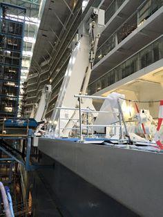Anthem of the Seas' deck 5 up close.