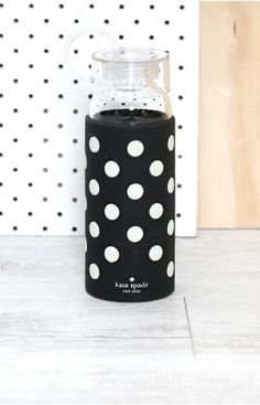 Kate Spade Water Bottle Polka Dots  #BBFEST #beginningboutique ESSENTIAL!!