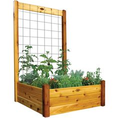 Gronomics Easy Assembly Raised Garden Bed 48X48X19 - Finished