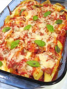 Pepperoni Pasta Bake