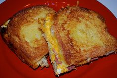 Not Soggy Breakfast Casserole but I think I will try it as just a grilled cheese sandwhich.