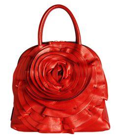 Valentino Rose Detail Bag. Love it!