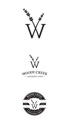 Woody Creek Lavender Farm Branding by Rae Moore, via Behance