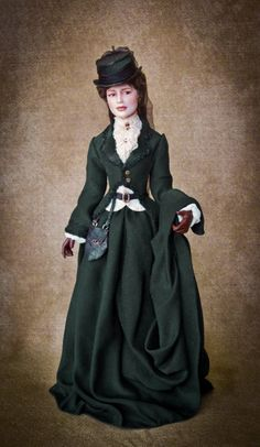 PictureTrail provides online photo sharing, personal homepages and image hosting. Ooak Dolls, Art Dolls, Fashion Dolls, Fashion Art, Victorian Fashion, Vintage Fashion, Miniature Dolls, Dollhouse Dolls, Victorian Dolls