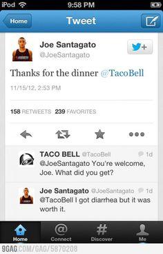 Taco Bell diarrhea