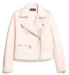 MANGO Pastel biker jacket on shopstyle.co.uk