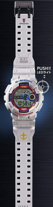 《鋼彈35周年紀念錶》這就是……聯邦最新MS的威力嗎?(顫抖音