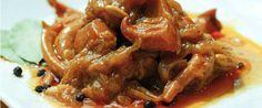 Receta de la sepia en salsa, plato típico de El Campello, Alicante.