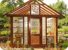 Where The Mermaids Murmur...: The Greenhouse is done!