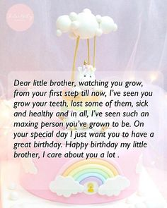 Birthday Wishes For Little Brother, Happy Birthday Brother Quotes And Wishes Birthday Message To Brother, Birthday Caption For Brother, Happy Birthday Younger Brother, Happy Birthday Brother Quotes, Message For Brother, Little Brother Quotes, Friend Birthday Quotes, Sister Quotes, Brother Sister