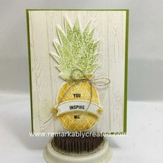 pineapple stamp by janet wakeland