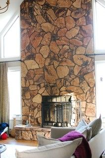 Ugly Fireplace What To Do Houzz This Article Gave Me Great Ideas For Working With My