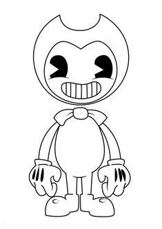 Bendy and the Ink Machine Coloring Page | Super Fun Coloring Pages ...