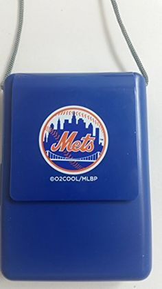 O2-Cool MLB Necklace Fan, New York Mets
